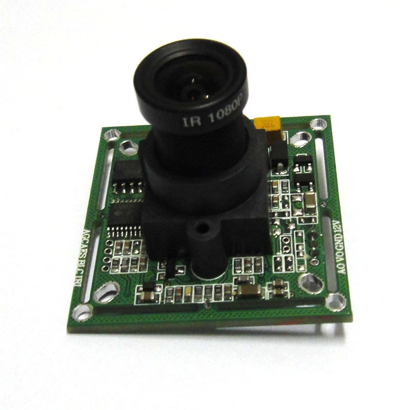1/3 420TVL SONY CCD Color CCTV Camera Board PCB mainboard, 3.6mm 1080p lens free shipping hot sell 1 3 sony ccd 405 2010 420tvl bullet camera module circuit board pal system