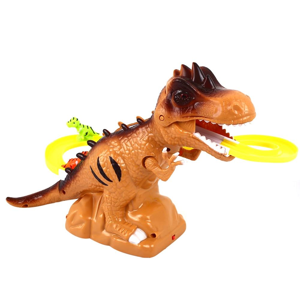Забавный трек игрушки Музыка Интеллектуальное развитие восхождение по лестнице игрушки для пазл игрушка, Прямая поставка - Цвет: brown