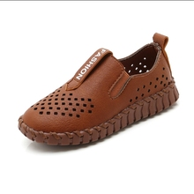 Летняя новая обувь в горошек в Корейском стиле, повседневная обувь для мальчиков, обувь для больших детей, Студенческая обувь для путешествий