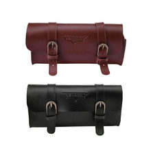Retro Bicycle Tail Bag PU Leather Cycling Bag Saddle Pouch Rear Pannier Personalized Riding Vintage Bike Bag Bicycle Accessories