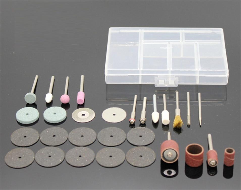 30pcs/set Abrasive Mounted Stone For Dremel Rotary Tool Grinding Stone Wheel Head for Dremel Accessories Diamond grinding needle