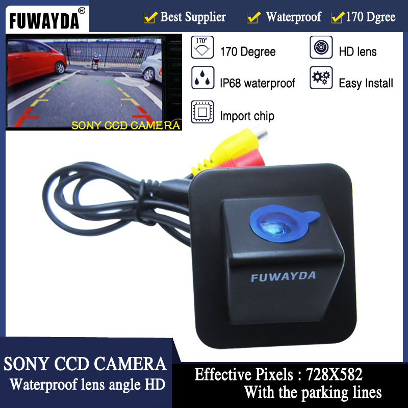 FUWAYDA SONY CCD Chip Car Rear View Reverse Parking Mirror Image With Guide Line CAMERA for Hyundai Elantra Avante 2012FUWAYDA SONY CCD Chip Car Rear View Reverse Parking Mirror Image With Guide Line CAMERA for Hyundai Elantra Avante 2012