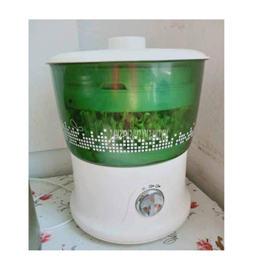 DYJ-A02A1 1.8L Double-Layer Intelligent Bean Sprouts Maker Household Automatic Green Seeds Growing Automatic Sprout Machine DYJ-A02A1 1.8L Double-Layer Intelligent Bean Sprouts Maker Household Automatic Green Seeds Growing Automatic Sprout Machine