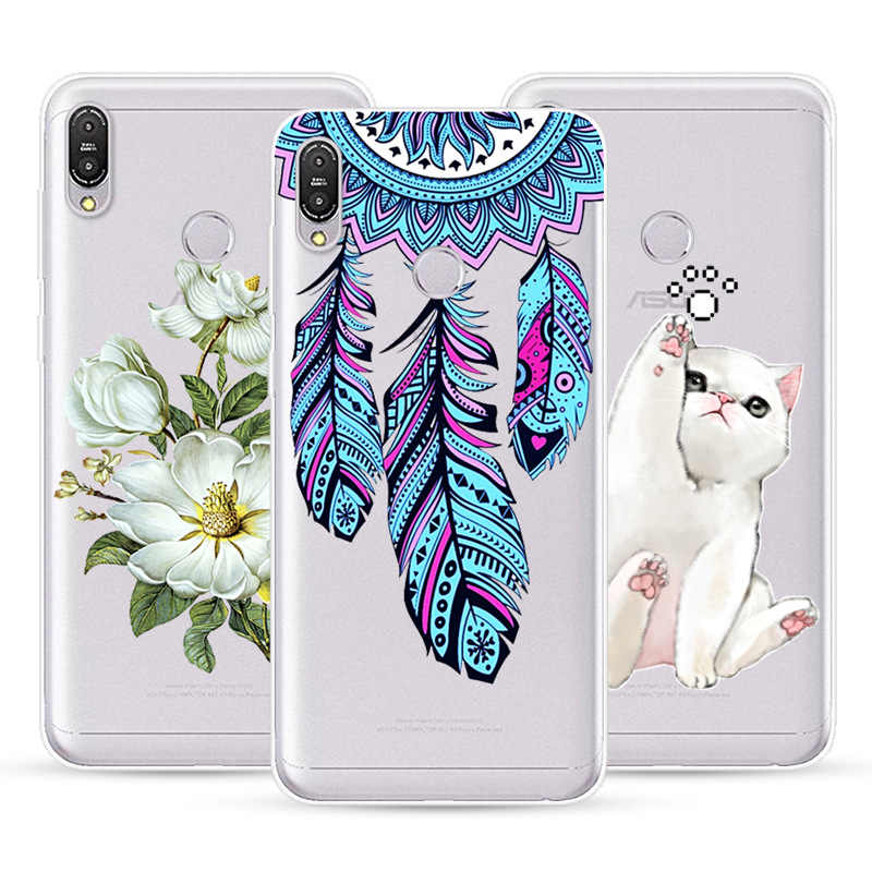 For ASUS Zenfone max m2 pro ZB633KL Phone Case Soft TPU Silicone Cover Protective Printed Case Zenfone max m2 pro ZB633KL Cover