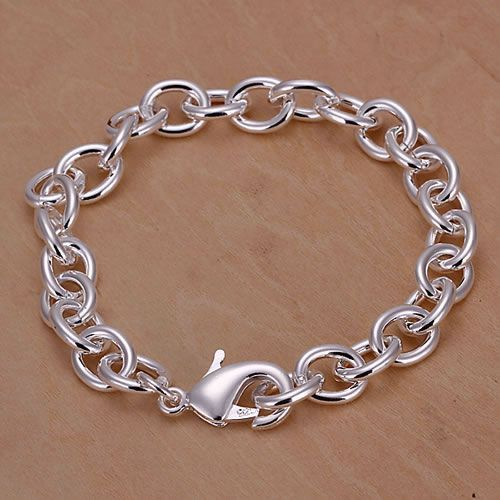 H089 Hot sale fine silver plated jewelry,Wholesale Factory price 925 charms free