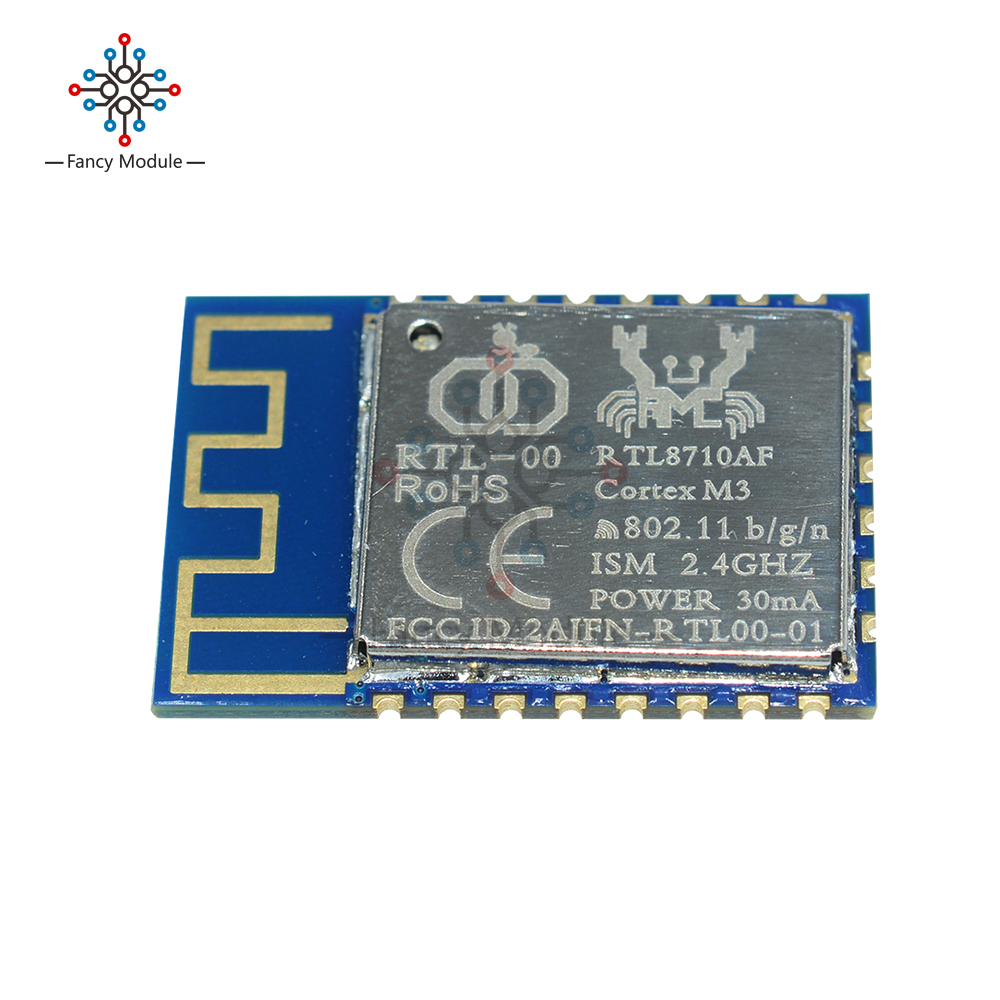 RTL8710 WiFi Wireless Transceiver Module <font><b>SOC</b></font> 44K Test Development <font><b>Board</b></font> Transmitter Receiver Built-in Antenna Module image