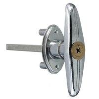 Замок для гаражной двери T ручка с ключом винт металлическая медь Прямая доставка