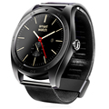 Novo k89 smart watch 1.22 polegadas ips tela redonda relógio smartwatch bluetooth monitor de freqüência cardíaca para iphone ios android smartphones