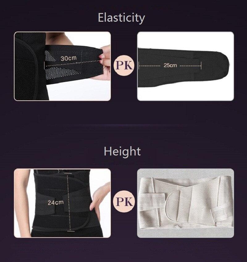 NINGMI Women Waist Trainer Modeling Belt Body Shaper Slimming Postpartum Belly Band Pulling Underwear Corsets Firm Velcro Strap (12)