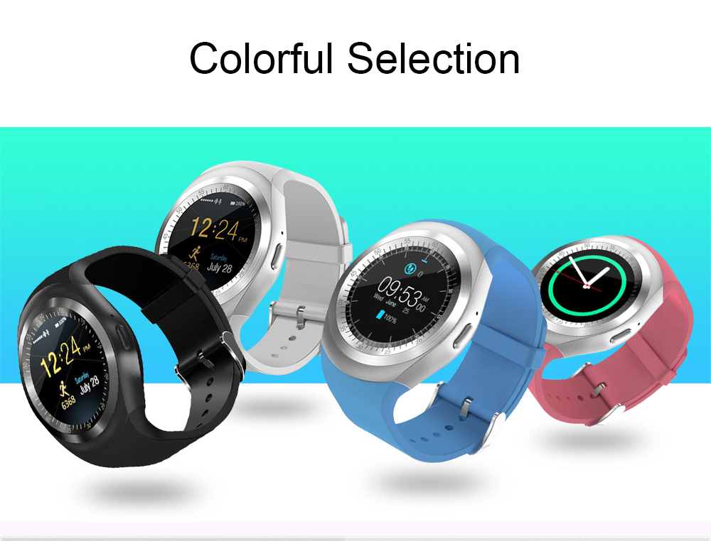 696 Bluetooth Y1 Smart Watch Relogio Android SmartWatch Phone Call GSM Sim Remote Camera Information Display Sports Pedometer 16