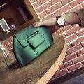 2017 Novo estilo shell bolsas de Ombro Mulheres SACOS de Moda Das Mulheres Pequeno saco Crossbody Plana Fêmea breve mensageiro bolsa mais cores