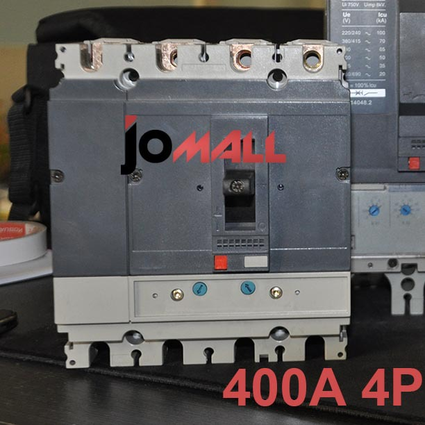 400A 4P 220V NS Moulded Case Circuit breaker 400a 3p 220v ns moulded case circuit breaker