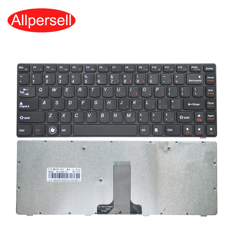Laptop <font><b>keyboard</b></font> for <font><b>Lenovo</b></font> G480 G480A G485 <font><b>Z480</b></font> brand new image