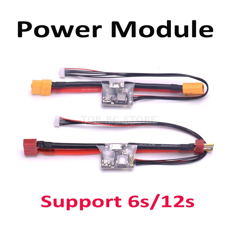 Módulo de potência com BEC XT60/T Plug Conector suporte 6 s/12 S Para APM2.6 Pixhawk 2.4.8 para f450 S500 Quadcopter