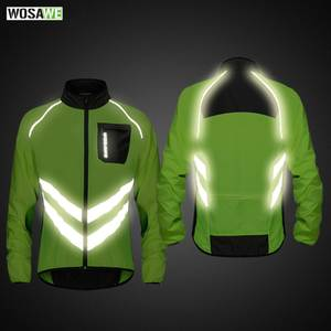 WOSAWE Mountain Bike Clothing High visibility Motorcycle Men s Windbreakers ce8ce9eac
