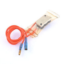 AC 230V 3A Dual Wires Lead 7C Refrigerator Defrost Thermostat Switch