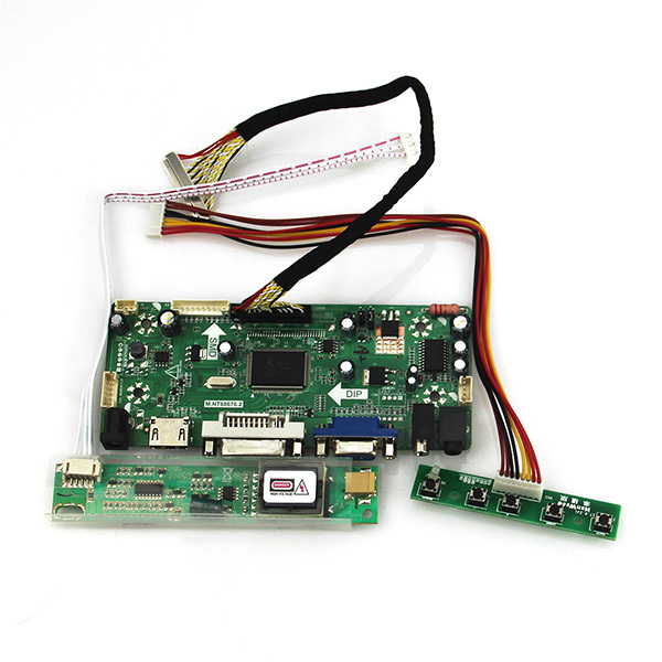 New for LP154W02(TL)(07) LP154W02(TL)(10)   LCD/LED  Controller Driver Board M.NT68676 (HDMI+VGA+DVI+Audio) 1680*1050