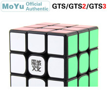 MoYu WeiLong 3x3x3 Magic Cube GTS/GTS2/GTS3 3x3 Cubo Magico Professional Speed Puzzle Antistress Fidget Toys For Children