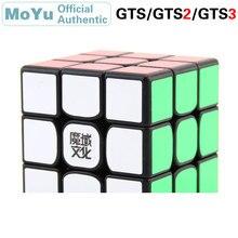 MoYu WeiLong 3x3x3 Magic Cube GTS/GTS2/GTS3 3x3 Cubo Magico Professional Speed Cube Puzzle Antistress Fidget Toys For Children 3x3x3 moyu weilong gts v2 m 3m magnetic puzzle magic gts2m speed cube gts 2m magnets cubo magico profissional toys for children