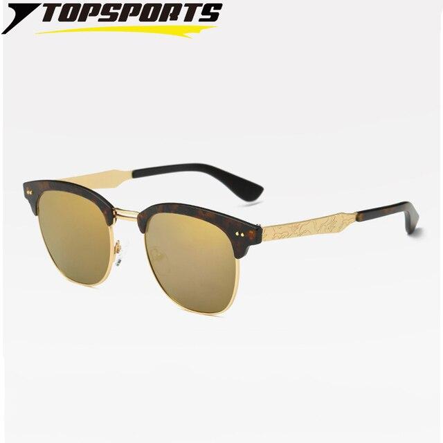 Sonnenbrille Silber TAC Polarisierte Sonnenbrille Anti-UV Anti Glare Metall Objektiv Beine xePPHmXxmX