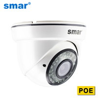 Smar CCTV IP Camera 720P 960P 1080P PoE Video Surveillance Dome Security Camera Manual Lens 2