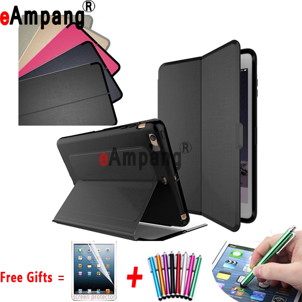 Auto Sleep Awake Smart Case for Apple iPad mini 4 Cover Case Silicon Shockproof Back Stand Cover for iPad mini 4 Case 7.9 inch for ipad mini4 cover high quality soft tpu rubber back case for ipad mini 4 silicone back cover semi transparent case shell skin