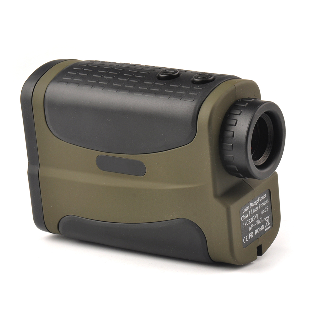Optics 700m Laser Rangefinder Scope 6x25 Binoculars Hunting Golf Laser Range Finder Outdoor Distance Meter Measure Telescope optics 700m laser rangefinder scope 6x25 binoculars hunting golf laser range finder outdoor distance meter measure telescope