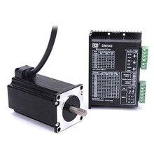 цена на CNC Kit - MD542 Stepper Motor Driver Controller 2 Phase 4.4A DC24-50V +57 mm Stepper motor