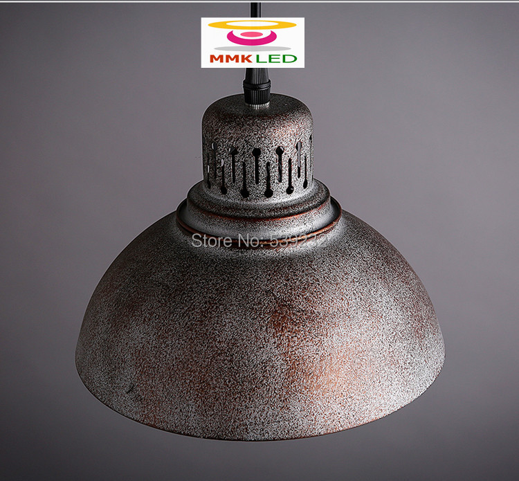 ФОТО American industrial loft retro lampshade Pendant Lights creative minimalist art Hanging light,  D21.5cm AC110-240V