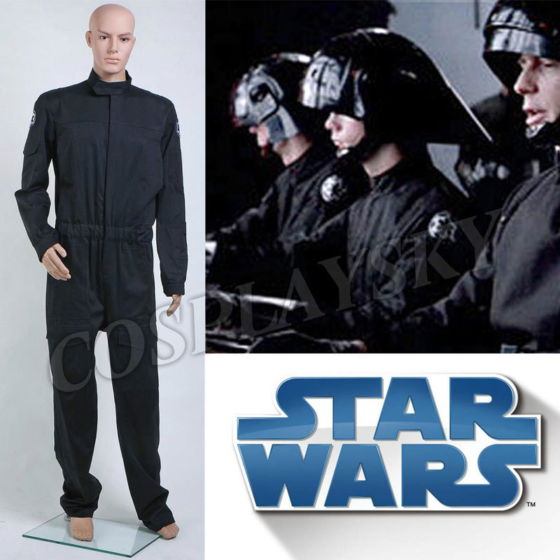 Pilot Vi Home: Star Wars Imperial Flightsuit Cosplay Costume Man Jumpsuit