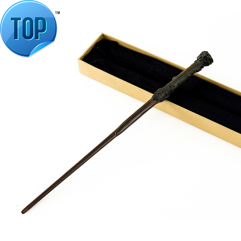 2018 New Arrive Metal Iron Core Harriy Potter Magic Wand Magic Magical Wand Elegant Ribbon Gift Box Packing ...