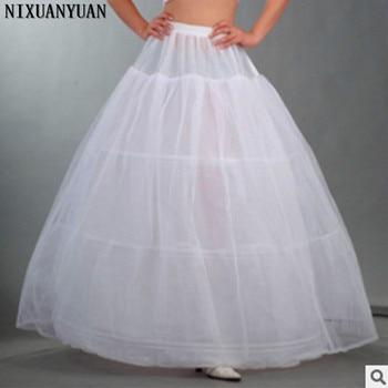 NIXUANYUANขายส่ง3ห่วงชั้นในกระโปรงสำหรับบอลชุดชุดแต่งงานชุดชั้นในC Rinoline