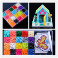 hot sale 20 Color Perler Beads 2000pcs box set 5mm Hama Beads EVA Fuse beads for Children Education jigsaw puzzle Toys