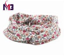 купить Fashion Women Twist Headband Ladies Hair Band Hoop Stretch Knitted Printed Floral Headband for Women Hair Accessories дешево