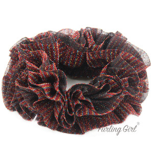 Image 5 - Furling Girl Large Size Muslim Handbands Flexible Rubber Band Comfortable Volumising Scrunchies Hair Tie Hair Bands for Women
