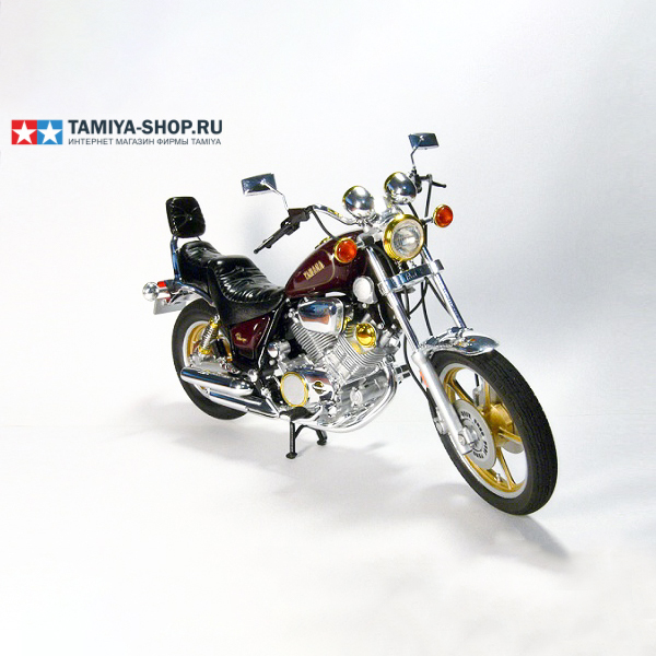 Image 2 - 1/12 مقياس نموذج دراجة نارية الجمعية أطقم ياماها XV1000 Virago موتور بناء لتقوم بها بنفسك عدة طامية 14044-في مجموعات نماذج البناء من الألعاب والهوايات على AliExpress