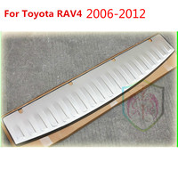 For Toyota RAV4 2006 2007 2008 2009 2010 2011 2012 High quality stainless steel Rear bumper Protector Sill