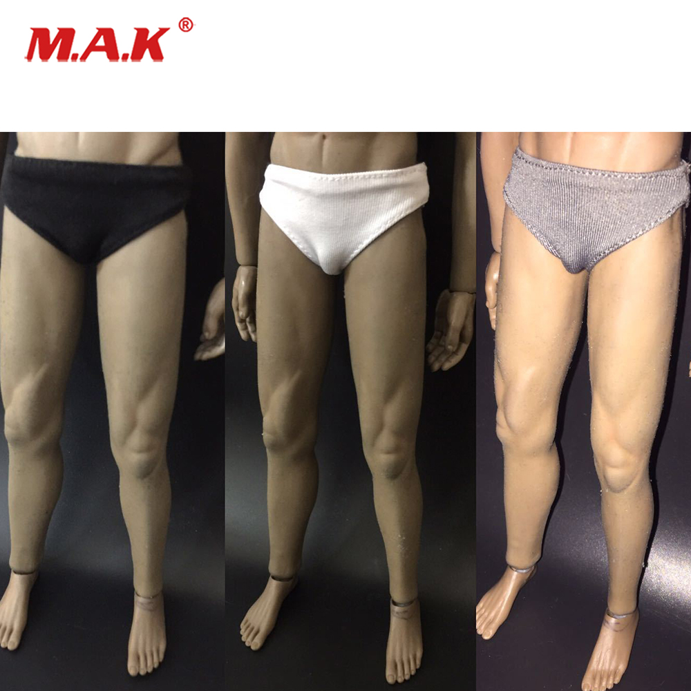 1 6 Scale Male Soldier Underwear Briefs Clothes 1 6 Scale 3 Colors fit 12 quot Man Soldier Action Figure body in Action amp Toy Figures from Toys amp Hobbies