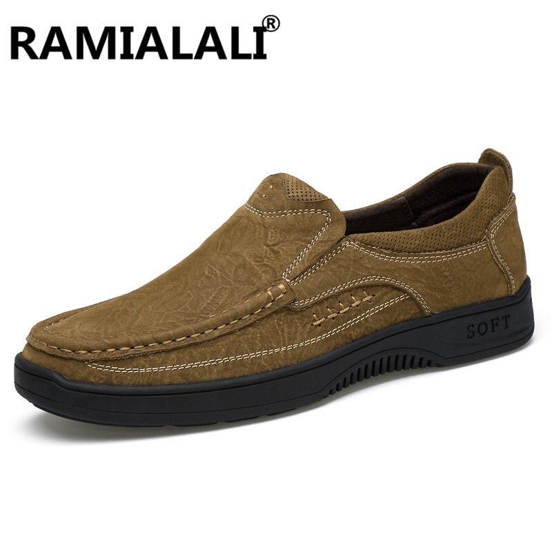 Conforto Dark Sapatos Moda Flats Couro Em Loafers Mão Condução Genuína Homens yellow Feitos Da Brown cáqui De Designer Novos Brown Mocassins À Deslizamento nUFOWqxfw