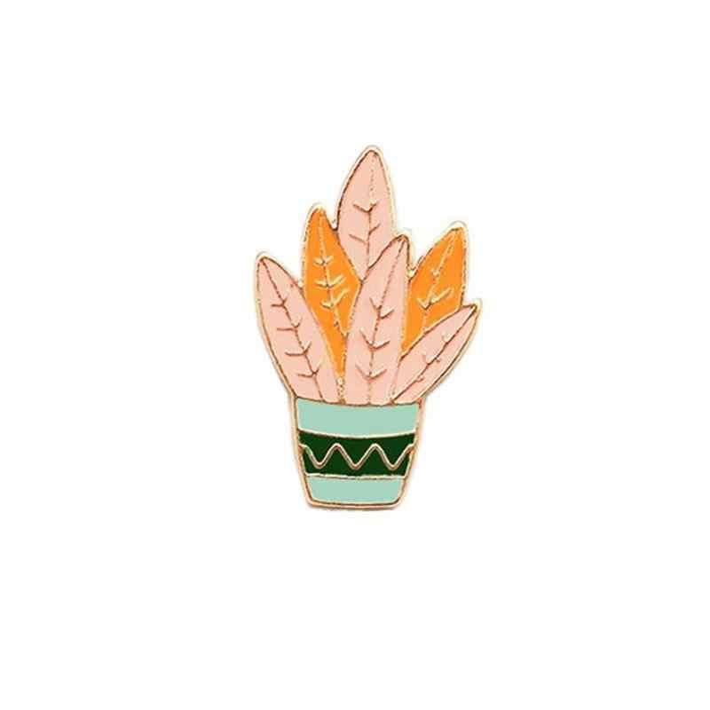 LNRRABC nuovo Spille Spilla Scarpe di Tendenza Cactus Bavero Del Cappotto Per Smalto Ragazzi T Shirt Sacchetto Pianta 9 Giapponese di Vendita Calda distintivi e Simboli Ragazze