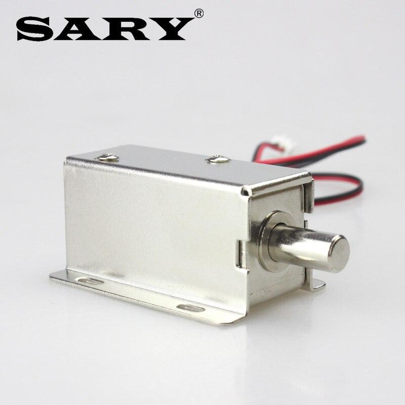 Metal Electric Assembly Solenoid Bolt Lock For Door File Cabinet Drawer DC12V
