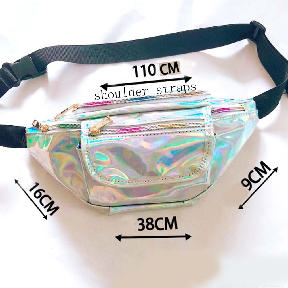 Unisex Handy Waist Belt Climbing Hiking Sport Bum Bag Fanny Pack Zip Pouch-US