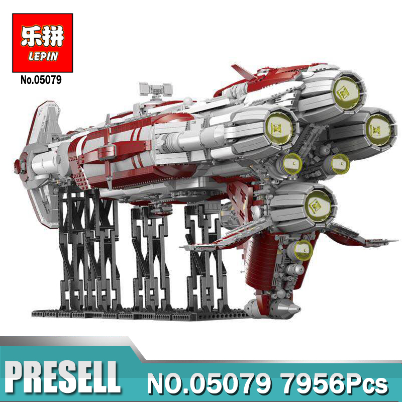 Lepin 05079 Star Set War Series The MOC Zenith Old Republic escort cruiser Set Compatible Legoing Building Bricks Toys for Boys rollercoasters the war of the worlds