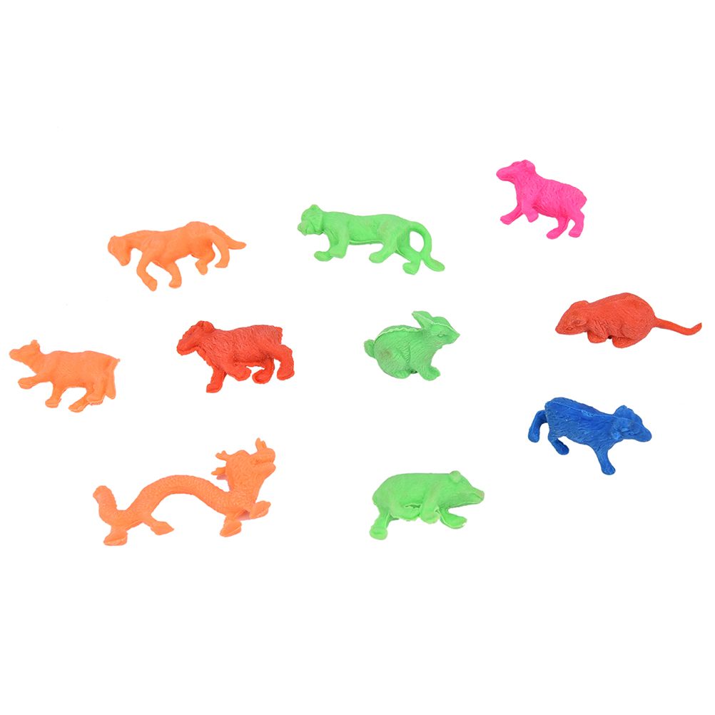 10 Pcs Magic Toys Colorful Growing In Water Bulk Swell Sea Creature Various Kinds Mixed Expansion Toy Puzzle Hot Sale