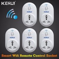 5 Pcs S72 KERUI Smart Socket EU US UK AU Plug WiFi IOS Android APP Control