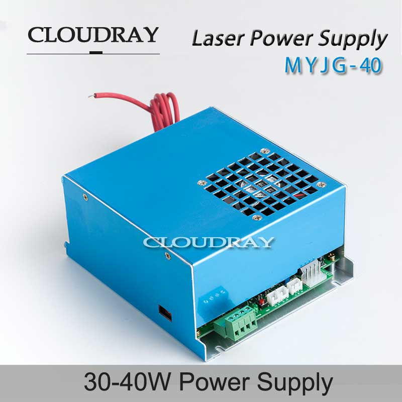 цена Cloudray CO2 Laser Power Supply 35-50W For Co2 Laser Engraving Cutting Machine Adjustable AC 220V / AC 110V MYJG-40 онлайн в 2017 году