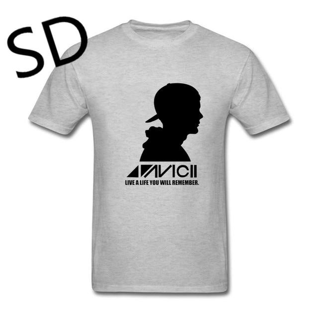 Tribute Life Tee Camisetas Dropshipping Top Summer T Hombre oversize A Live Ricorderete Men White Shirt Avicii TlJc1FK