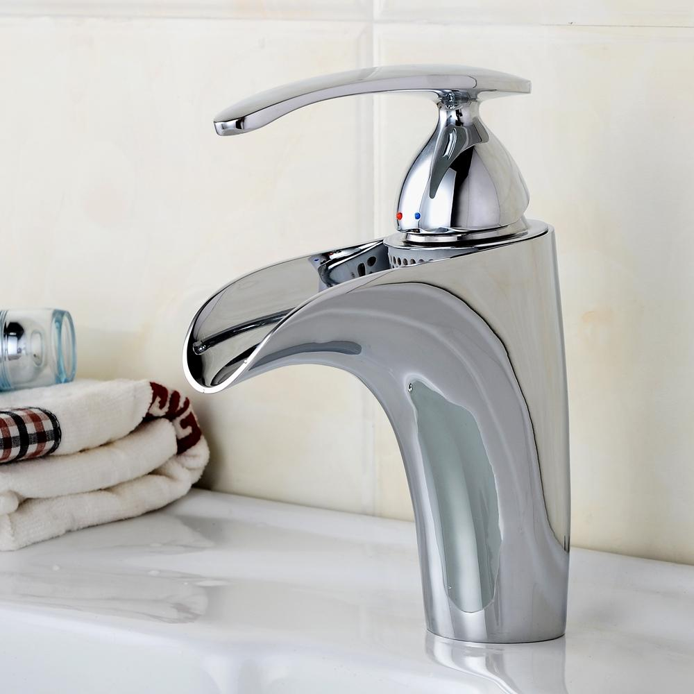BECOLA Free shipping Bathroom faucet washbasin water tap Chrome ...