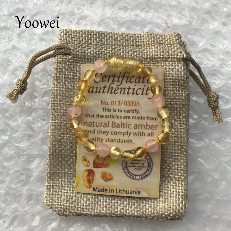 HTB1PIwefDnI8KJjy0Ffq6AdoVXaS Yoowei 9 Color Baby Amber Bracelet/Necklace Natural Amethyst Gems Adult Baby Teething Necklace Baltic Amber Jewelry Wholesale