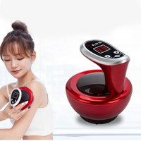 Electric heating massage scraping instrument Body Relaxation massage Therapy Vacuum negative Pressure Meridian guasha Device